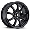 Focal F9 169BK Gloss Black 17 X 7.5 Inch Wheel