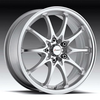 Forza 302 Silver Machined Wheel Packages