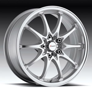 Forza 302 Silver Machined 18 inch