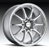 Forza 302 Silver Machined 17 inch