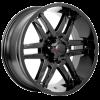 Forza 305 17X9 Satin Black