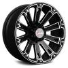 Forza 308 17X9 Flat Black