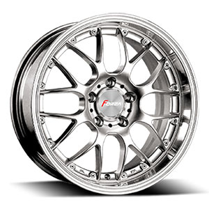 Forza 316 Silver Machined 17 X 7.5  Inch Wheel