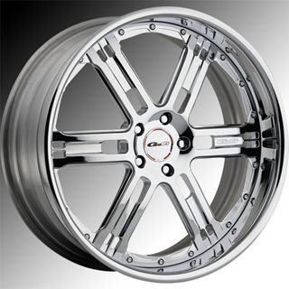 GFG Baghdad 6 Chrome Wheel Packages