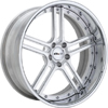 GFG Basel 5 Brushed Machined 19 X 8 Inch Wheels