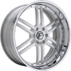 GFG Basel 6 Brushed Machined 22 X 8 Inch Wheels
