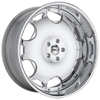 GFG Brasta Brushed Machined 24 X 9 Inch Wheels