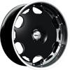 GFG Brasta Matte Black 24 X 9 Inch Wheels