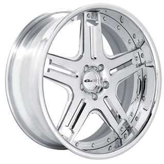 GFG Klessig 5 Chrome Wheel Packages