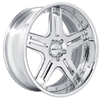 GFG Klessig 5 Chrome 20 X 8 Inch Wheels