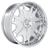GFG Klessig 7 Chrome 22 X 8 Inch Wheels