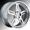 GFG Narkid Chrome 19 X 8 Inch Wheels