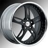 GFG Narkid Matte Black 22 X 8 Inch Wheels