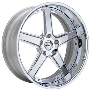 GFG Nice 5 Chrome Wheel Packages