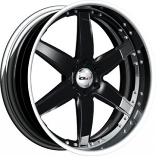 GFG Nice 6 Black Wheel Packages