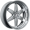 GFG Nice 6 Chrome 22 X 8 Inch Wheels