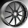 GFG Tel Aviv Matte Black Wheel Packages
