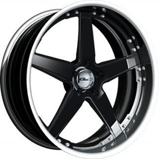 GFG Tripoli 5 Black Wheel Packages