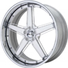 GFG Tripoli 5 Chrome 22 X 8 Inch Wheels