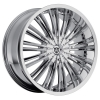 Heavy Hitters H2 24X9.5 Chrome