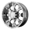 Helo HE791 Maxx 17X8 Chrome