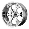 Helo HE791 Maxx 17X9 Chrome Plated