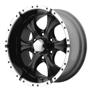 Helo HE791 Maxx 20X10 Gloss Black Machined