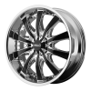 Helo HE875 20X8.5 Chrome Plated With Gloss Black Accents