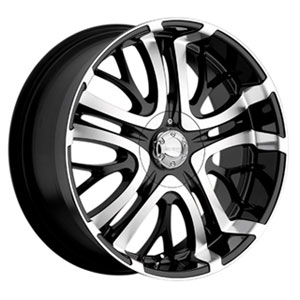 Incubus 500 Paranormal Black 20 X 8.5 Inch Wheel