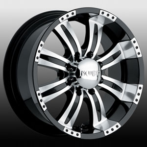 Incubus 501 Poltergeist 16 X 8 Inch Wheels (Gloss Black)
