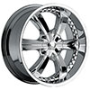 Incubus 726 Chrome 22 X 9.5 Inch Wheel