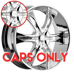Chrome Rims Store Incubus 763 Nemesis Chrome Caps E61
