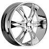Incubus 763 Nemesis 20 X 9 Inch Wheel