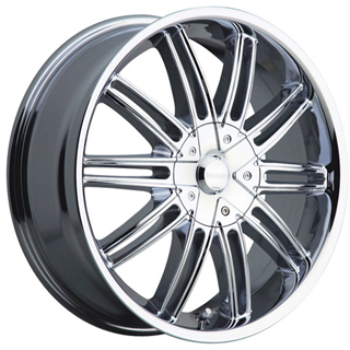 Incubus 821 Prisa Chrome Wheel Packages
