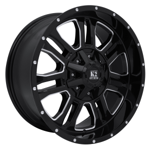 K2 Offroad Thor Gloss Black Machined