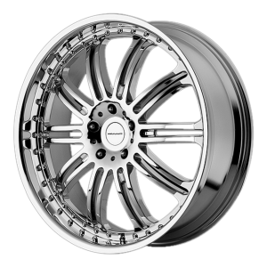 KMC KM127 Dime Chrome Plated