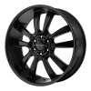 KMC KM673 Skitch 24X9.5 Satin Black