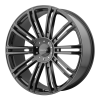 KMC KM677 D2 20X8.5 Gloss Black