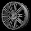 KMC KM677 D2 22X9.5 Gloss Black