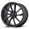 KMC KM691 Spin 19X9.5 Satin Black