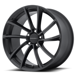 KMC KM691 Spin Satin Black