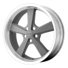 KMC KM701 Nova 18X9 Mag Gray Machined