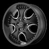 KMC KM755 Venom 20X8.5 High Temp Matte Black Coated