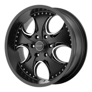 KMC KM755 Venom High Temp Matte Black Coated