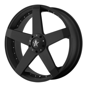 KMC KM775 Rockstar Car High Temp Matte Black Coated