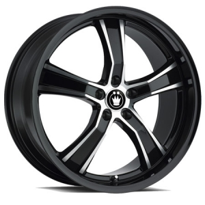 Konig Airstrike Black Machined