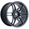 Konig Deception 17X7.5 Matte Black