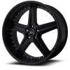 Lorenzo WL19 18X9.5 Gloss Black