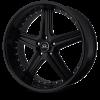 Lorenzo WL19 20X8.5 Gloss Black
