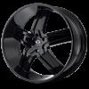 Lorenzo WL30 20X8.5 Gloss Black